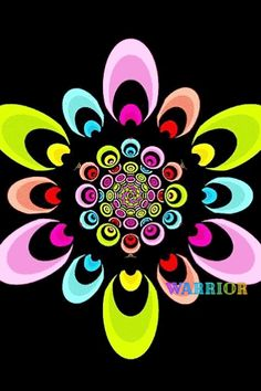 Trippy Gif, Good Night Greetings, Bright Paintings, Kaleidoscopes, Illusion Art, Optical Illusions, Cosmic, Album Covers, Beautiful Flowers