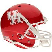 Schutt Houston Cougars Full-Size Replica Helmet