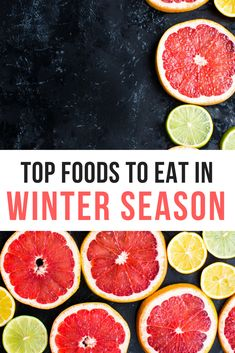 Top foods to eat in winter season for health & wellness! #healthylifestyle #winterishere