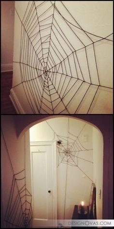Украшаем дом на Хэллоуин своими руками - 24 бюджетные идеи | #праздник #хэллоуин Красота