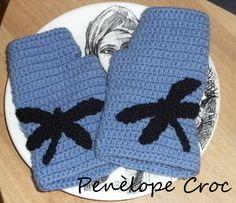 #crochet#Guanti#penelopecroc