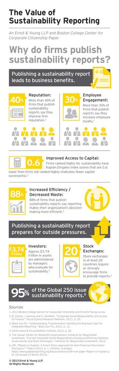 EY - Value of sustainability reporting