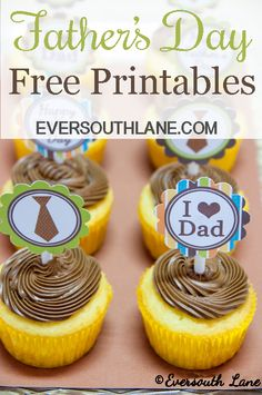Father's Day Free Printables at Eversouth Lane. eversouthlane.com