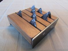 Guitar Pick Holder or Business Card Holder  by SalvageAndSpruce, $25.00