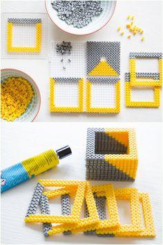 pfefferminzgruen: DIY - Bügelperlen können noch viel mehr!
