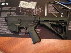 AR-15 build using VLTOR upper and lower receivers.