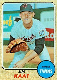 jim kaat baseball cards | 1968 Topps Jim Kaat #450 Baseball Card Value Price Guide