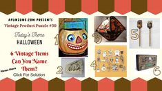 Can you guess today's classic vintage product puzzle? Halloween 6, Vintage Halloween, Classic Tv, Trivia, Vintage Items, The Past, Tv Shows, Household, Puzzle