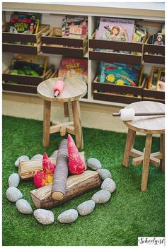 Land of Nod goes classroom! Check out this amazing set-up featuring some Land of Nod products.
