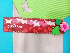 Marca Libro, realizado por una de las participantes de las actividades del Taller de Gloglo
