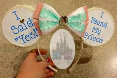Proclaim your storybook romance with these glittery ears, perfect for your Disney trip.
