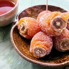Dried persimmons stuffed with white bean & and Walnuts. A traditional-style Japanese confection that absolutely melts in your mouth.