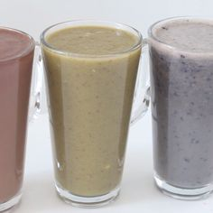 Healthy Smoothies Cure back-to-school blues with these power-packed smoothies. - Cure back-to-school blues with these power-packed smoothies. Breakfast Smoothies, Smoothie Drinks, Healthy Smoothies, Healthy Drinks, Healthy Snacks, Fruit Smoothies, Simple Smoothie Recipes, Vegetable Smoothies, Smoothie Packs