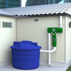 Att förvandla regnvatten till dricksvatten: den här uppfinningen gör det möjligt att samla upp till 15.000