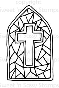 Simple Stainedglass Cross by theancientofdays on DeviantArt  the