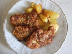 Řízky v brokolicovém těstíčku - recept   Varecha.sk Tandoori Chicken, Ethnic Recipes