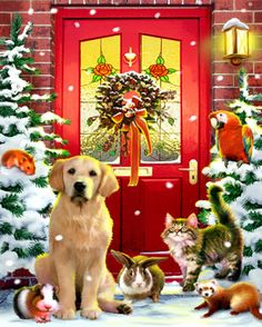 Christmas Welcome Jigsaw Puzzle | 1000 Piece Puzzles | Vermont Christmas Co. VT Holiday Gift Shop
