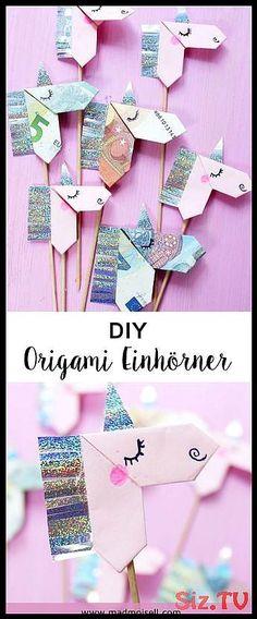 Creative banknotes folding to origami unicorn – DIY tutorial DIY Origami Unicorns Fold: Great Gift Idea for Unicorn Fans! Creative banknotes folding to origami unicorn – DIY tutorial DIY Origami Unicorns Fold: Great Gift Idea for Unicorn Fans! Origami Design, Diy Origami, Origami Tutorial, Origami Love, Origami Folding, Diy Tutorial, Origami Ball, Origami Instructions, Origami Paper