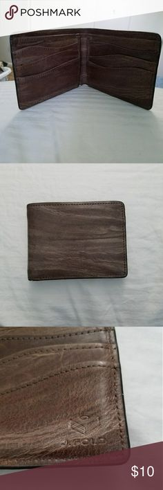 J fold mens wallet Very nice quality , gently used mens wallet from Nordstrom. J Fold Bags Wallets