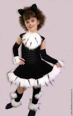 """Детские карнавальные костюмы ручной работы. Карнавальный костюм """"Кошечка"""". Юлия…"""