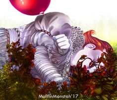 "muffin-monstah: "" Pennywise~ Reference for the picture taken from here: http://ju-hsuan.tumblr.com/post/164365911298/title-%E6%AE%8B%E9%9F%BF%E3%81%AE%E3%83%86%E3%83%AD%E3%83%AB-12-cn-%E5%B0%8F%E7%80%9E """