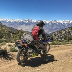 "Ian Rowsby on Instagram: ""I took Geof for his first backcountry ride in Death Valley this weekend. I didn't kill him and I think he had a good time! #yamahawr250r…"""