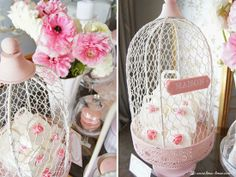 the treats for this shabby chic tea party