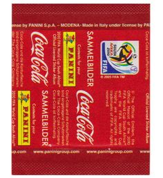 Panini WM 2010 Tüte - Coca Cola Promotion, Stickerpoint