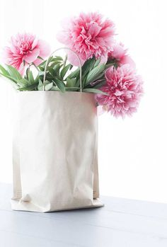 anetteshus flowers in a bag//