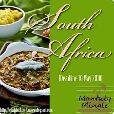 Great South African food blog