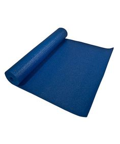 Take a look at this Royal Blue Studio Yoga Mat by OMSutra on #zulily today!