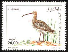 мар49Birds on stamps: Algeria Algerije Algérie