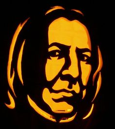 Snape's hair doesn't come across as quite so greasy in carved form.