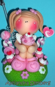 *SORRY, no information as to product used ~ MUÑECA PARA LEONOR by Alejandra Semberg, via Flickr