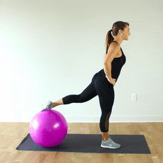 7 Stability Ball Exercises for a Full-Body Workout | PaleoHacks
