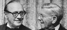 Jack Benny & George Burns - Now, this was a bromance! Old Hollywood Stars, Classic Hollywood, Jack Benny, George Burns, Old And New, Comedians, Behind The Scenes, Movie Tv, Broadway