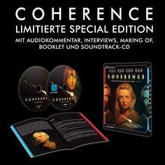 Coherence - Limited Special Edition. Ab 27.3. im Handel. Mit umfangreichem Bonusmaterial und Soundtrack-CD.