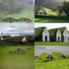 Iceland Earth Shelter Homes