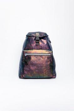 lanvin iridescent backpack