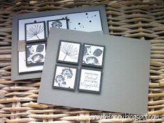 stampin up stampinwithfanny trauerkarte perfekte pärchen petite pairs kinda eclectic summer silhouettes serene Hand Stamped Cards, Sympathy Cards, Stamping Up, Flower Cards, Xmas Cards, Greeting Cards Handmade, Homemade Cards, Stampin Up Cards, Cardmaking