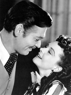 Gone with the Wind. Aww Rhett and Scarlett. One of my favorites.
