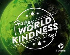 How are you spreading kindness today? #WorldKindnessDay #ItWorksGivesBack <3