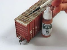 What method do you use to get a believable paint fade on rolling stock? | Model Railroad Hobbyist magazine | Having fun with model trains | Instant access to model railway resources without barriers