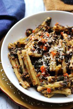 hearty pasta with black lentil carrot and chard ragoutReally  Mein Blog: Alles rund um die Themen Genuss & Geschmack  Kochen Backen Braten Vorspeisen Hauptgerichte und Desserts