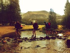 Backpacking the Sierras
