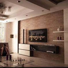 Wall Modern Design 3 stylish modern homes with dark red accents fireplace wallfireplace designmodern fireplacered Wall Tv Units Family Room Design Ideas Pictures Remodel And Decor