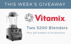 Vegan ultra-athlete Rich Roll announces 'The Plantpower Way' Thunderclap wellness awareness campaign plus weekly contest gifts and giveaways. Vitamix Blender, Awareness Campaign, Blenders, Healthy Tips, Gift Baskets, Best Gifts, Nutrition, Canning, Mixer