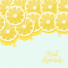 Lemonade design Free Vector