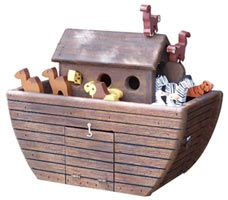 Woodendipity Noahs Ark Boat Novelty Mailboxes