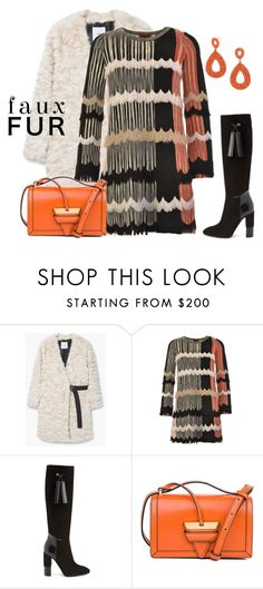 """""""outfit 5520"""" by natalyag ❤ liked on Polyvore featuring MANGO, Missoni, Aquatalia by Marvin K., Loewe and BaubleBar"""